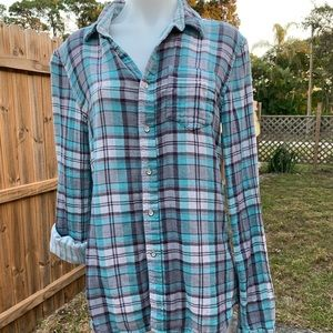 Reversible flannel shirt by Joes